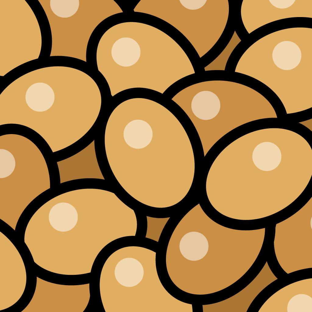 粘って納豆